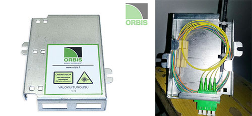 Orbis FTTH adapter holder