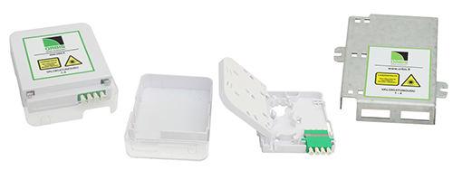 Termination boxes and FTTH holders